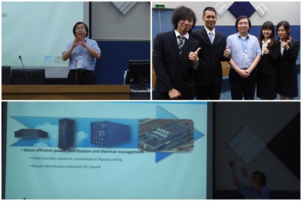 工研院雲端運算行動應用科技中心主任闕志克博士專題演講