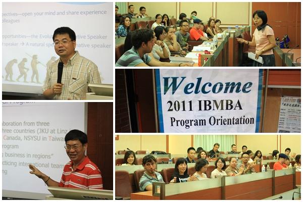 新學期  新希望 --管院國際經營管理碩士新生歡迎會