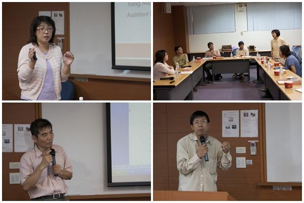 管院學術研究交流的座談 - - 楊美玲老師的論文分享