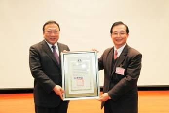 恭喜企管系劉維琪教授榮獲中華民國二等文化獎章
