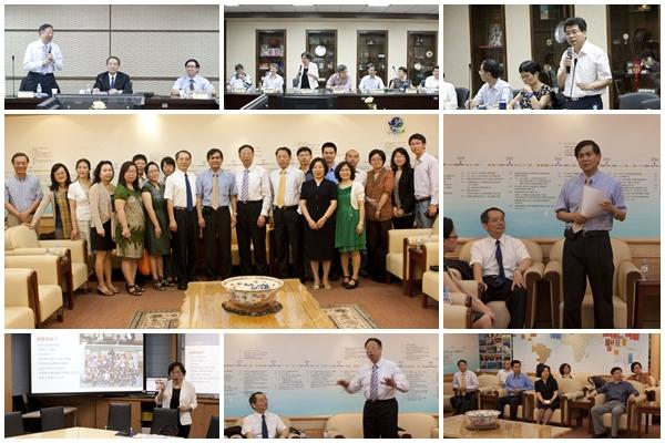 上海同濟大學訪問團蒞臨訪問