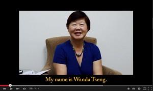 人物專訪-Dr. Wanda Tseng