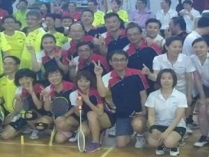 中山大學EMBA羽球隊