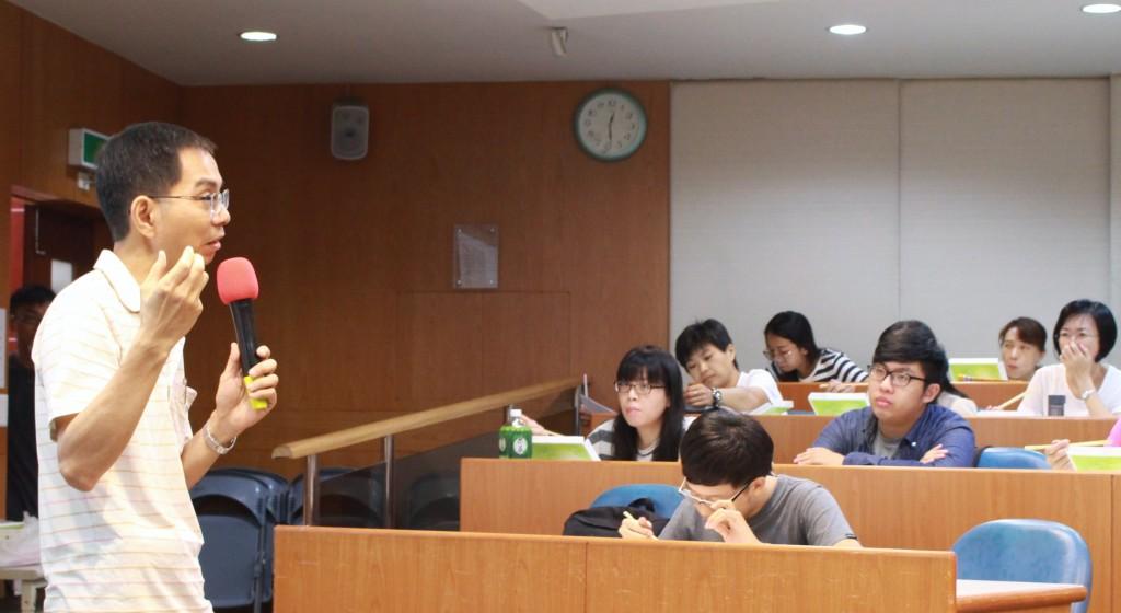 林新沛副院長講授