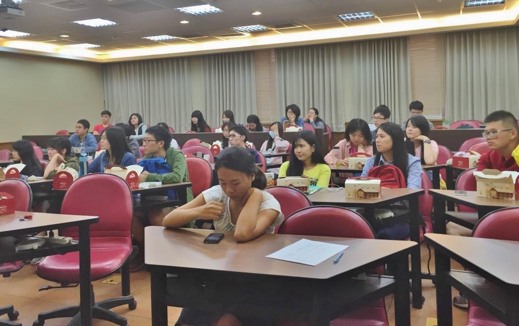 現場近30位同學參加