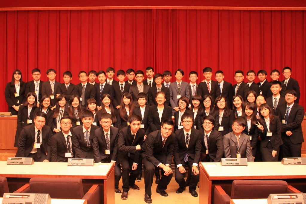 第23屆SFM全體財管系工作人員大合影