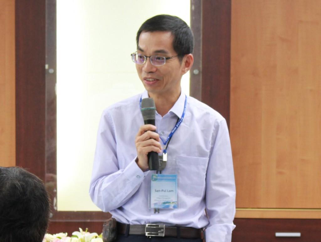 管理學院副院長林新沛