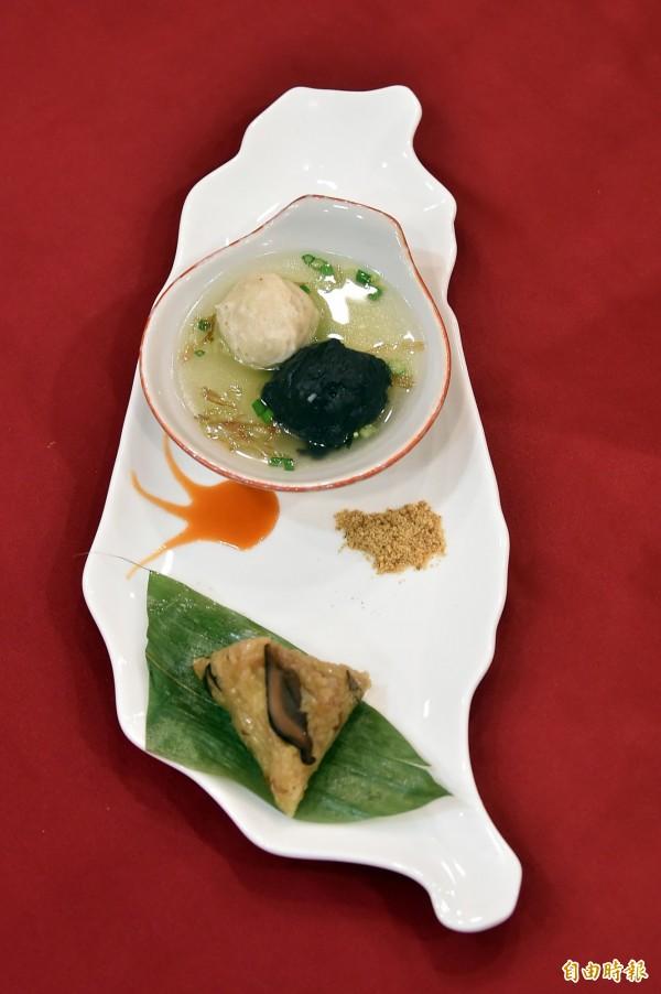 韓國總統朴槿惠品嚐台灣美食後,讚譽有加,這些「韓國國宴菜」4月要在高雄原味重現。(記者張忠義攝)