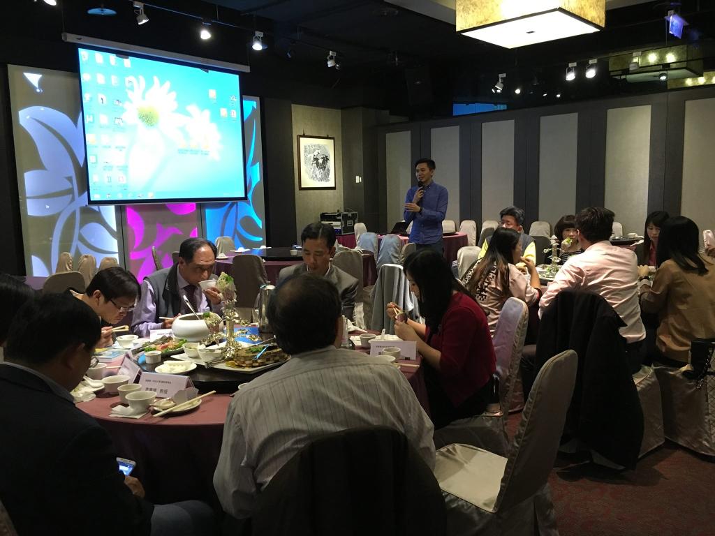 電子商務聯盟餐敘聯誼 成員歡聚展力量