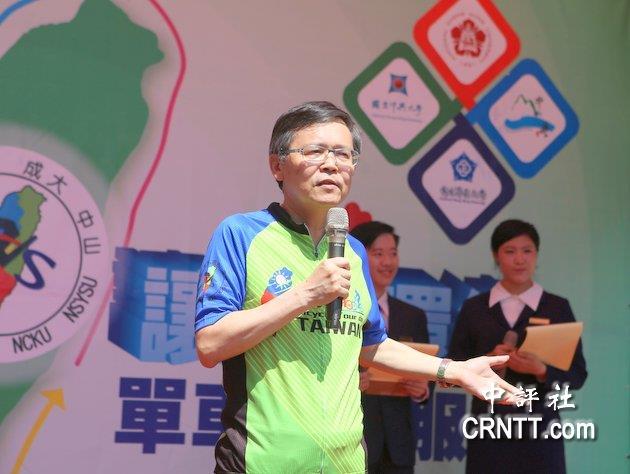 中山大學代理校長吳濟華。(中評社 林谷隆攝)