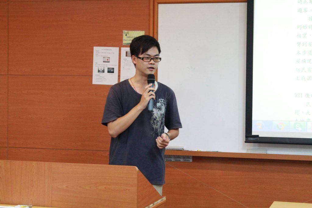 創意與創業報導文學類評審獎得主:財管系大二學生蕭聖霖分享創作過程