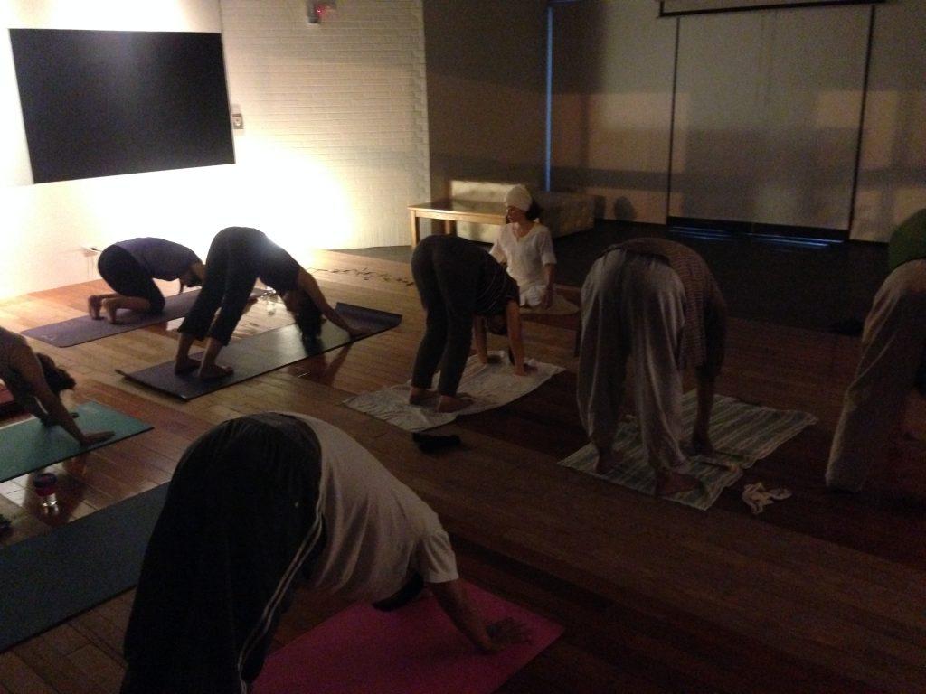 昆達里尼瑜珈練習