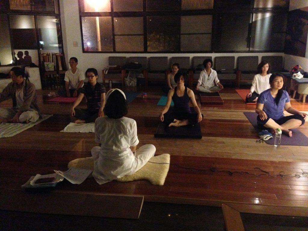 昆達里尼瑜珈冥想