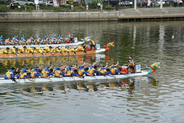 龍舟賽國際組九連霸 中山擁6獎座大豐收