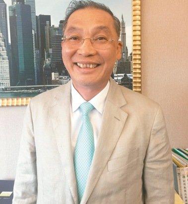 高雄市不動產開發公會理事長張永義 記者林政鋒/攝影