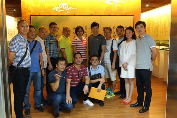 大陸中山市青年企業家參訪財管系