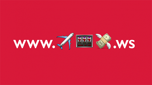 emoji也能是網址? 挪威航空透過Instagram訊息推播,發佈一串神祕網址,引發大眾好奇,輸入後連結到特定航線的銷售頁面,藉此推廣活動促銷。