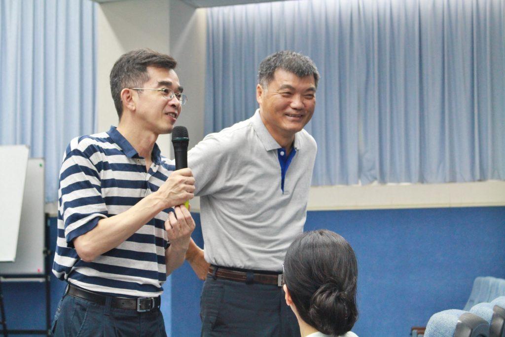 陳世哲院長介紹林鈺杰老師