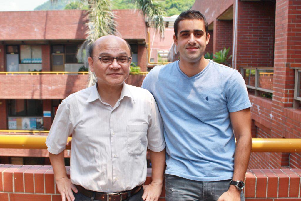 IBMBA103級校友吉浩嵐與IBMBA宋兆賢老師