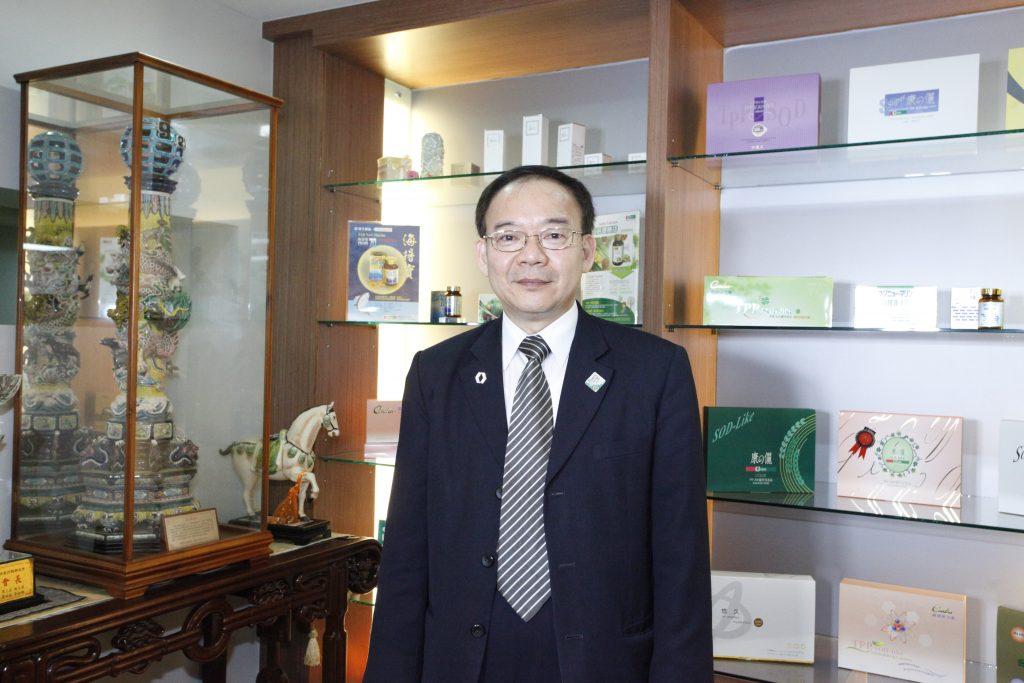 李金斾董事長是本校EMBA第九屆校友