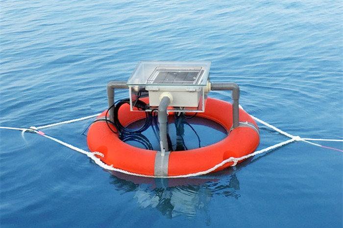 慧養殖監測系統-水聚寶。 寬緯/提供