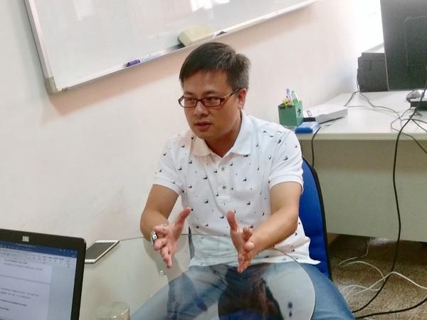 華視新聞部地方中心主任黃柏齡