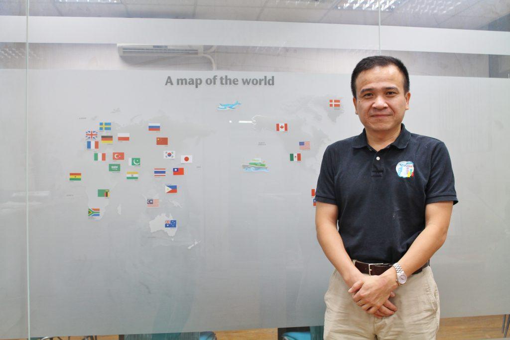 徐士傑老師目前也擔任管院國際事務中心暨IBMBA學程主任