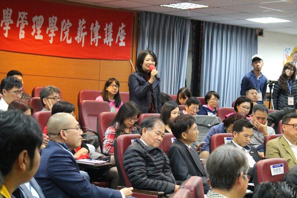 中山榮譽講座教授劉維琪 暢談「商業模式的再創新」