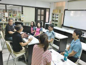 中心團隊與電商平台南農電舖洽談農產上架合作事宜